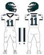 Eagles white uniform
