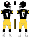 Steelers color uniform