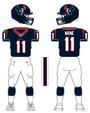 Texans color uniform