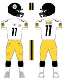 Steelers white uniform