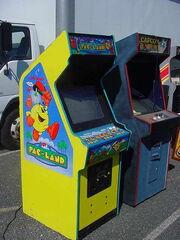 Pac-Land arcade machine