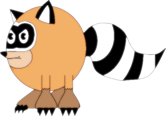 File:Pac-Coon by Needlemouse.png