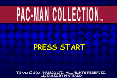 File:Pac-Man Collection title screen.png
