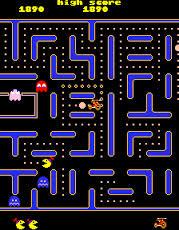 Jr. Pac-Man playfield