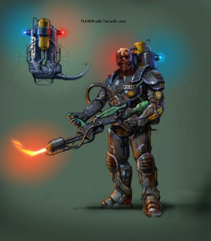 File:Concept art of Flamer and Flamethrower.png