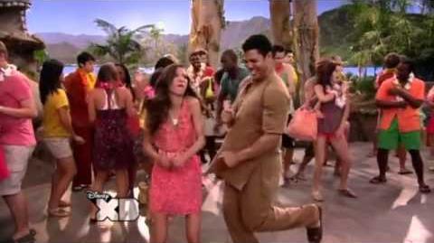 HQ Pair of Kings - Cast Dancing (Pair of Kings Beach Party Maggot Massacre)