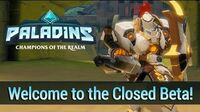 Paladins - Welcome to the Closed Beta!