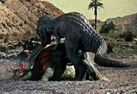 Gwangi vs Styracosaurus