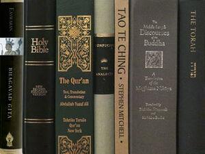 Religion-shelf