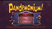 Pandemonium main screen