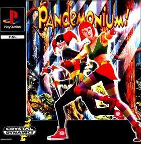 Pandemonium!PS1Art