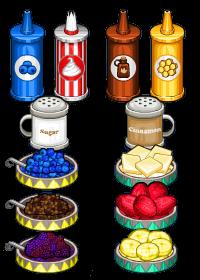 Topping pancakeria
