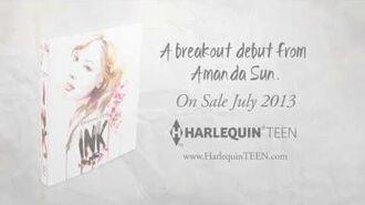 INK debut novel from Amanda Sun(Book Trailer)