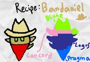 Bananiel Recipe Card