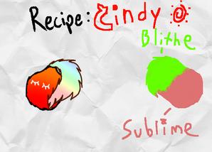 Cindy Recipe