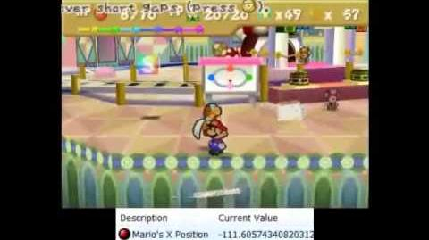 Paper Mario - Shining some light on the Gourmet Guy skip, with console setup