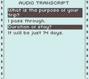 Audio transcript