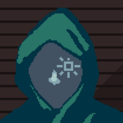 A hooded <a href=