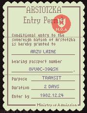 Fake pass