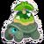 Sticker tortoise