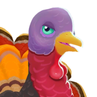 Turkey portrait