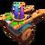 Deco Fireworks Cart