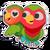 Sticker lovebirds