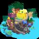 Island wishingwell