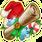 Scroll santa large