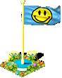 Flag smile
