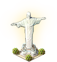 Easter Decoration Silver Statue