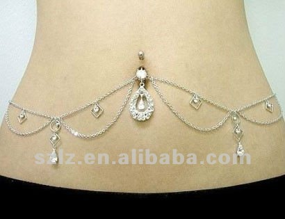 File:Sexy chain diamond 316L stainless steel belly.jpg