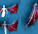 Costume Piece: Burned Wings