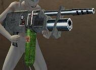 Drawn Weapon SNAKE B GONE