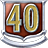 V badge Level40Badge