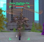 Power Oscillator Pet