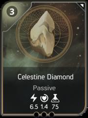 Celestine Diamond card