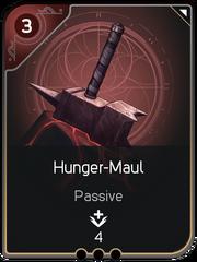 Hunger-Maul card
