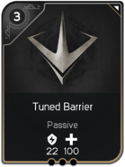 Tuned Barrier