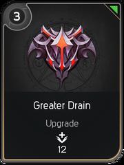 Greater Drain card