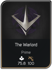 The Warlord card
