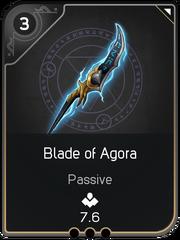 Blade of Agora card