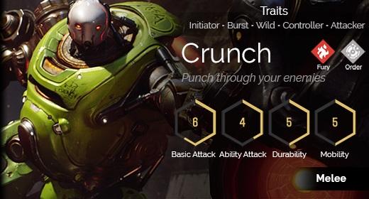 Crunch hover