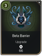 Beta Barrier