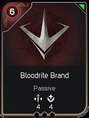 Bloodrite Brand card