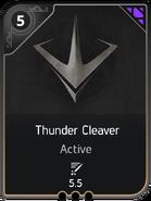 Thunder Cleaver