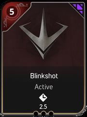 Blinkshot card