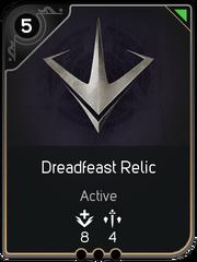 Dreadfeast Relic card