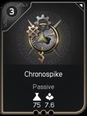 Chronospike card