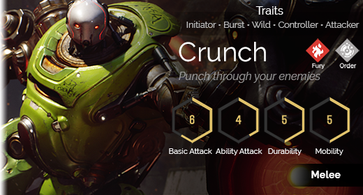 Crunch hover